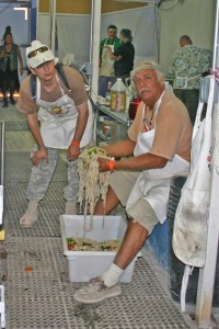 Michael & Mario, the human mixer!